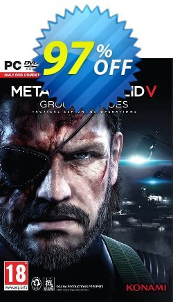 Metal Gear Solid V 5: Ground Zeroes PC Coupon, discount Metal Gear Solid V 5: Ground Zeroes PC Deal. Promotion: Metal Gear Solid V 5: Ground Zeroes PC Exclusive offer for iVoicesoft