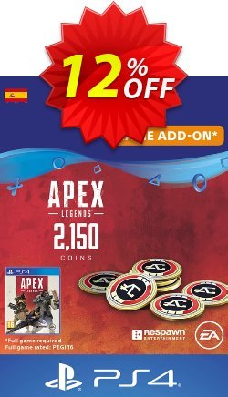 Apex Legends 2150 Coins PS4 - Spain  Coupon discount Apex Legends 2150 Coins PS4 (Spain) Deal - Apex Legends 2150 Coins PS4 (Spain) Exclusive offer for iVoicesoft