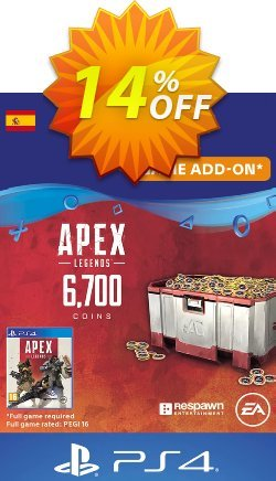 Apex Legends 6700 Coins PS4 - Spain  Coupon discount Apex Legends 6700 Coins PS4 (Spain) Deal - Apex Legends 6700 Coins PS4 (Spain) Exclusive offer for iVoicesoft