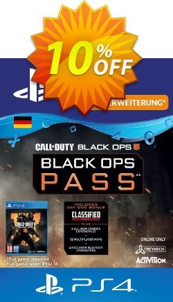 Call of Duty Black Ops 4 Pass PS4 - Germany  Coupon discount Call of Duty Black Ops 4 Pass PS4 (Germany) Deal - Call of Duty Black Ops 4 Pass PS4 (Germany) Exclusive offer for iVoicesoft