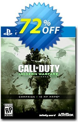 Call of Duty - COD Modern Warfare Remastered PS4 - Digital Code Coupon discount Call of Duty (COD) Modern Warfare Remastered PS4 - Digital Code Deal - Call of Duty (COD) Modern Warfare Remastered PS4 - Digital Code Exclusive offer for iVoicesoft