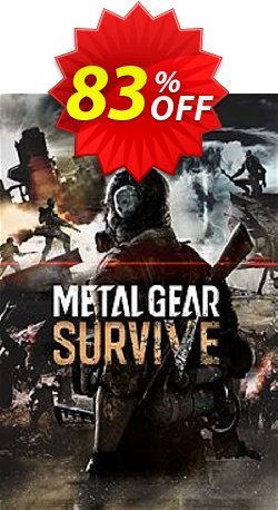Metal Gear Survive PC Coupon discount Metal Gear Survive PC Deal. Promotion: Metal Gear Survive PC Exclusive offer for iVoicesoft