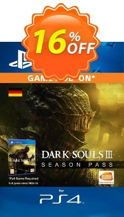 Dark Souls 3 Season pass PS4 - Germany  Coupon discount Dark Souls 3 Season pass PS4 (Germany) Deal - Dark Souls 3 Season pass PS4 (Germany) Exclusive offer for iVoicesoft