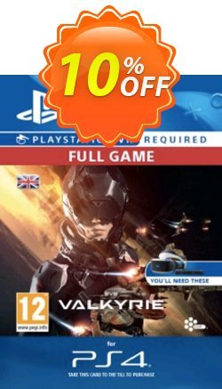 EVE Valkyrie VR PS4 Coupon discount EVE Valkyrie VR PS4 Deal. Promotion: EVE Valkyrie VR PS4 Exclusive offer for iVoicesoft