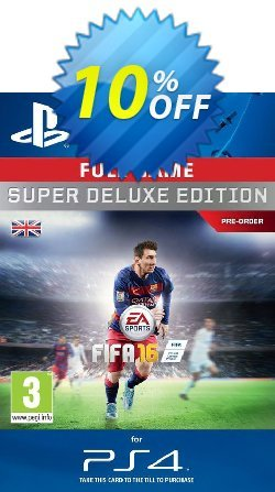 Fifa 16 Super Deluxe PS4 - Digital Code Coupon discount Fifa 16 Super Deluxe PS4 - Digital Code Deal - Fifa 16 Super Deluxe PS4 - Digital Code Exclusive offer for iVoicesoft