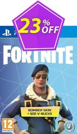 Fortnite Bomber Skin + 500 V-Bucks PS4 Coupon discount Fortnite Bomber Skin + 500 V-Bucks PS4 Deal - Fortnite Bomber Skin + 500 V-Bucks PS4 Exclusive offer for iVoicesoft