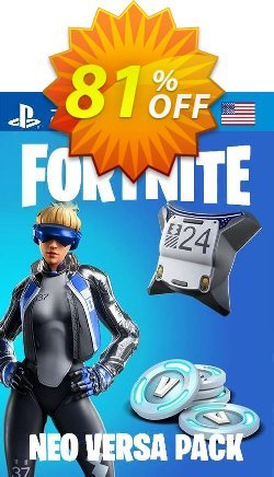 Fortnite Neo Versa + 2000 V-Bucks PS4 - US  Coupon, discount Fortnite Neo Versa + 2000 V-Bucks PS4 (US) Deal. Promotion: Fortnite Neo Versa + 2000 V-Bucks PS4 (US) Exclusive offer for iVoicesoft