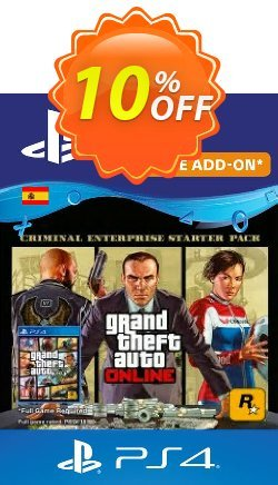 Grand Theft Auto Online - Criminal Enterprise Starter Pack PS4 - Spain  Coupon discount Grand Theft Auto Online - Criminal Enterprise Starter Pack PS4 (Spain) Deal - Grand Theft Auto Online - Criminal Enterprise Starter Pack PS4 (Spain) Exclusive offer for iVoicesoft