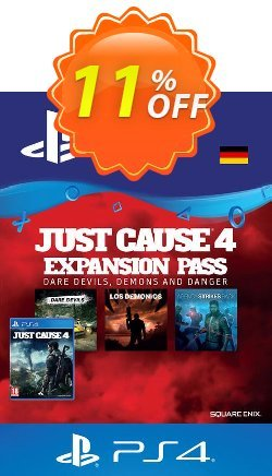 Just Cause 4 Expansion Pass PS4 - Germany  Coupon discount Just Cause 4 Expansion Pass PS4 (Germany) Deal - Just Cause 4 Expansion Pass PS4 (Germany) Exclusive offer for iVoicesoft