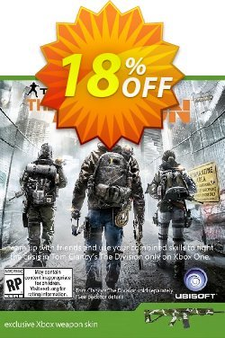 The Division Xbox Weapon Skin DLC Coupon, discount The Division Xbox Weapon Skin DLC Deal. Promotion: The Division Xbox Weapon Skin DLC Exclusive offer for iVoicesoft