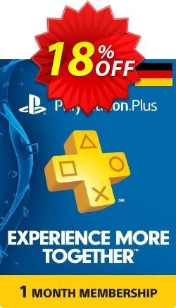 PlayStation Plus - 1 Month Subscription - Germany  Coupon discount PlayStation Plus - 1 Month Subscription (Germany) Deal - PlayStation Plus - 1 Month Subscription (Germany) Exclusive offer for iVoicesoft