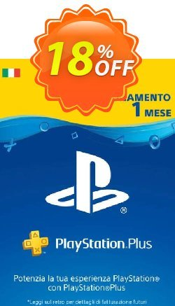 Playstation Plus - 1 Month Subscription - Italy  Coupon discount Playstation Plus - 1 Month Subscription (Italy) Deal - Playstation Plus - 1 Month Subscription (Italy) Exclusive offer for iVoicesoft