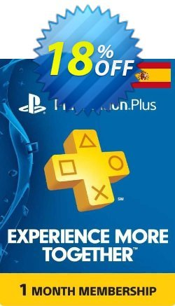 Playstation Plus - 1 Month Subscription - Spain  Coupon discount Playstation Plus - 1 Month Subscription (Spain) Deal - Playstation Plus - 1 Month Subscription (Spain) Exclusive offer for iVoicesoft