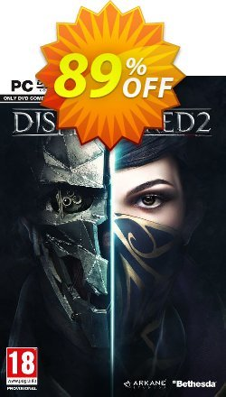 Dishonored 2 PC Coupon discount Dishonored 2 PC Deal - Dishonored 2 PC Exclusive offer for iVoicesoft
