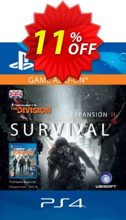 Tom Clancy's The Division Survival PS4 - UK  Coupon discount Tom Clancy's The Division Survival PS4 (UK) Deal - Tom Clancy's The Division Survival PS4 (UK) Exclusive offer for iVoicesoft