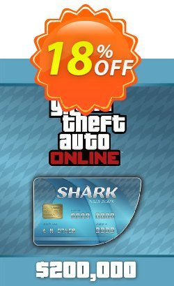 Grand Theft Auto V : Tiger Shark Card PC Coupon, discount Grand Theft Auto V : Tiger Shark Card PC Deal. Promotion: Grand Theft Auto V : Tiger Shark Card PC Exclusive offer for iVoicesoft