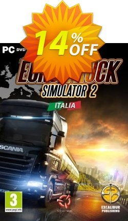 Euro Truck Simulator 2 PC Italia DLC Coupon discount Euro Truck Simulator 2 PC Italia DLC Deal. Promotion: Euro Truck Simulator 2 PC Italia DLC Exclusive offer for iVoicesoft