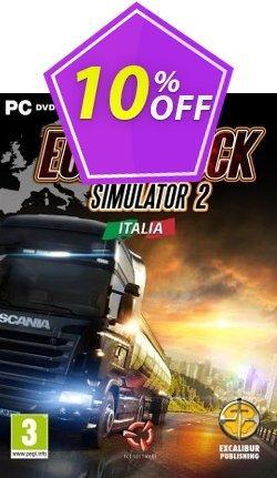 Euro Truck Simulator 2 PC Italia DLC Coupon discount Euro Truck Simulator 2 PC Italia DLC Deal - Euro Truck Simulator 2 PC Italia DLC Exclusive offer for iVoicesoft