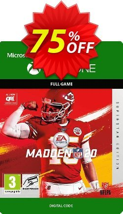 Madden NFL 20 Superstar Edition Xbox One Coupon discount Madden NFL 20 Superstar Edition Xbox One Deal - Madden NFL 20 Superstar Edition Xbox One Exclusive offer for iVoicesoft