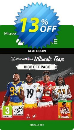 Madden NFL 20: Ultimate Team Kick Off Pack Xbox One Coupon discount Madden NFL 20: Ultimate Team Kick Off Pack Xbox One Deal - Madden NFL 20: Ultimate Team Kick Off Pack Xbox One Exclusive offer for iVoicesoft
