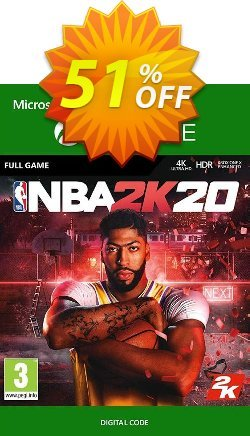 NBA 2K20 Xbox One Coupon discount NBA 2K20 Xbox One Deal - NBA 2K20 Xbox One Exclusive offer for iVoicesoft