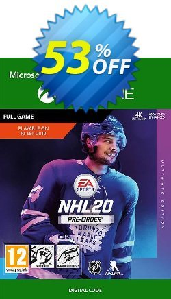 NHL 20: Ultimate Edition Xbox One Coupon discount NHL 20: Ultimate Edition Xbox One Deal - NHL 20: Ultimate Edition Xbox One Exclusive offer for iVoicesoft