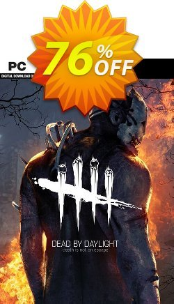 Dead by Daylight PC Coupon discount Dead by Daylight PC Deal - Dead by Daylight PC Exclusive offer for iVoicesoft