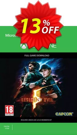Resident Evil 5 Xbox One Coupon discount Resident Evil 5 Xbox One Deal - Resident Evil 5 Xbox One Exclusive offer for iVoicesoft