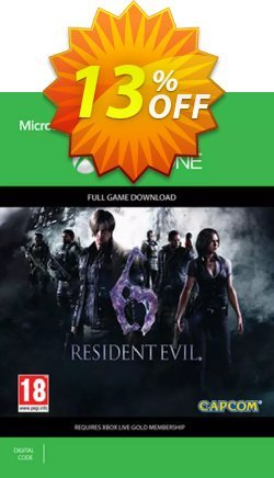 Resident Evil 6 Xbox One Coupon discount Resident Evil 6 Xbox One Deal - Resident Evil 6 Xbox One Exclusive offer for iVoicesoft