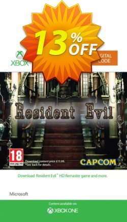 Resident Evil HD Xbox One Coupon discount Resident Evil HD Xbox One Deal - Resident Evil HD Xbox One Exclusive offer for iVoicesoft
