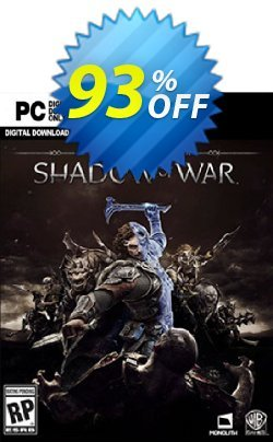 Middle-earth: Shadow of War PC Coupon, discount Middle-earth: Shadow of War PC Deal. Promotion: Middle-earth: Shadow of War PC Exclusive offer for iVoicesoft