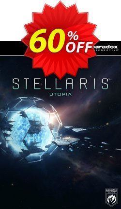 Stellaris: Utopia PC DLC Coupon discount Stellaris: Utopia PC DLC Deal. Promotion: Stellaris: Utopia PC DLC Exclusive offer for iVoicesoft