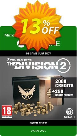 Tom Clancy's The Division 2 2250 Credits Xbox One Coupon discount Tom Clancy's The Division 2 2250 Credits Xbox One Deal - Tom Clancy's The Division 2 2250 Credits Xbox One Exclusive offer for iVoicesoft