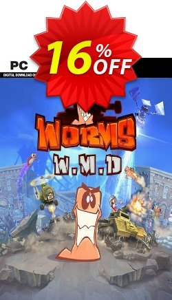 Worms W.M.D. PC Coupon discount Worms W.M.D. PC Deal. Promotion: Worms W.M.D. PC Exclusive offer for iVoicesoft