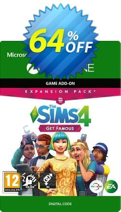 The Sims 4 - Get Famous Expansion Pack Xbox One Coupon discount The Sims 4 - Get Famous Expansion Pack Xbox One Deal - The Sims 4 - Get Famous Expansion Pack Xbox One Exclusive offer for iVoicesoft
