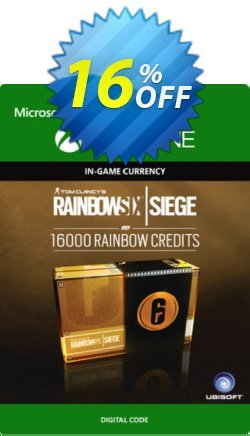 Tom Clancy's Rainbow Six Siege 16000 Credits Pack Xbox One Coupon discount Tom Clancy's Rainbow Six Siege 16000 Credits Pack Xbox One Deal - Tom Clancy's Rainbow Six Siege 16000 Credits Pack Xbox One Exclusive offer for iVoicesoft