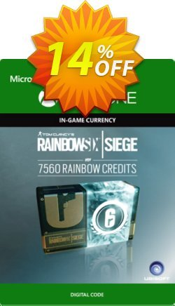 Tom Clancy's Rainbow Six Siege 7560 Credits Pack Xbox One Coupon discount Tom Clancy's Rainbow Six Siege 7560 Credits Pack Xbox One Deal - Tom Clancy's Rainbow Six Siege 7560 Credits Pack Xbox One Exclusive offer for iVoicesoft