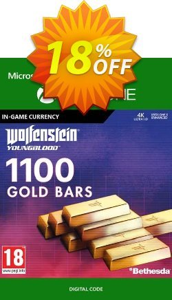 Wolfenstein: Youngblood - 1100 Gold Bars Xbox One Coupon discount Wolfenstein: Youngblood - 1100 Gold Bars Xbox One Deal - Wolfenstein: Youngblood - 1100 Gold Bars Xbox One Exclusive offer for iVoicesoft