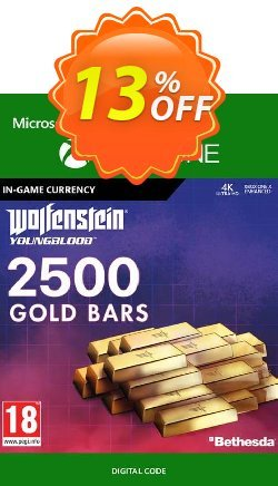 Wolfenstein: Youngblood - 2500 Gold Bars Xbox One Coupon discount Wolfenstein: Youngblood - 2500 Gold Bars Xbox One Deal - Wolfenstein: Youngblood - 2500 Gold Bars Xbox One Exclusive offer for iVoicesoft