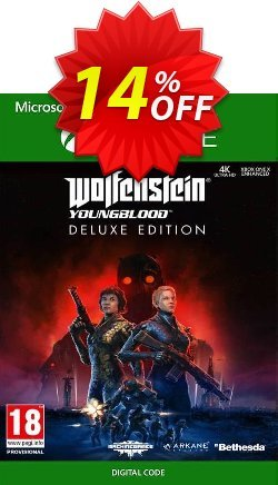 Wolfenstein: Youngblood Deluxe Edition Xbox One Coupon discount Wolfenstein: Youngblood Deluxe Edition Xbox One Deal - Wolfenstein: Youngblood Deluxe Edition Xbox One Exclusive offer for iVoicesoft