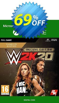 WWE 2K20: Deluxe Edition Xbox One Coupon discount WWE 2K20: Deluxe Edition Xbox One Deal - WWE 2K20: Deluxe Edition Xbox One Exclusive offer for iVoicesoft