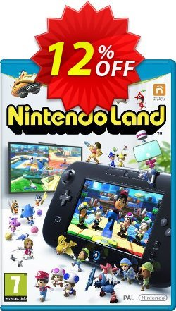 Nintendo Land Wii U - Game Code Coupon discount Nintendo Land Wii U - Game Code Deal - Nintendo Land Wii U - Game Code Exclusive offer for iVoicesoft
