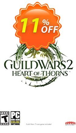 Guild Wars 2 Heart of Thorns Digital Deluxe PC Coupon discount Guild Wars 2 Heart of Thorns Digital Deluxe PC Deal. Promotion: Guild Wars 2 Heart of Thorns Digital Deluxe PC Exclusive offer for iVoicesoft