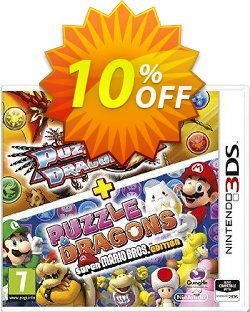 Puzzle and Dragons Z + Puzzle and Dragons Super Mario Bros. Edition Nintendo 3DS/2DS - Game Code Coupon discount Puzzle and Dragons Z + Puzzle and Dragons Super Mario Bros. Edition Nintendo 3DS/2DS - Game Code Deal - Puzzle and Dragons Z + Puzzle and Dragons Super Mario Bros. Edition Nintendo 3DS/2DS - Game Code Exclusive offer for iVoicesoft
