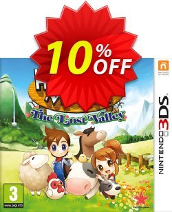 Harvest Moon: The Lost Valley Nintendo 3DS/2DS - Game Code Coupon discount Harvest Moon: The Lost Valley Nintendo 3DS/2DS - Game Code Deal - Harvest Moon: The Lost Valley Nintendo 3DS/2DS - Game Code Exclusive offer for iVoicesoft