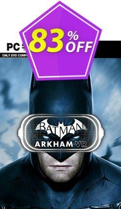 Batman: Arkham VR PC Coupon discount Batman: Arkham VR PC Deal. Promotion: Batman: Arkham VR PC Exclusive offer for iVoicesoft