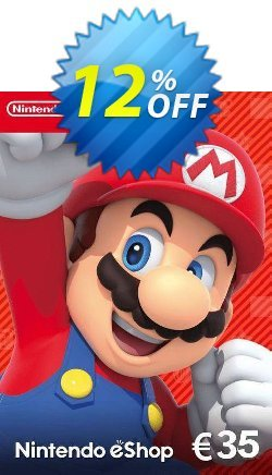 Nintendo eShop Card - €35 Coupon, discount Nintendo eShop Card - €35 Deal. Promotion: Nintendo eShop Card - €35 Exclusive offer for iVoicesoft