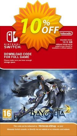 Bayonetta 2 Switch Coupon, discount Bayonetta 2 Switch Deal. Promotion: Bayonetta 2 Switch Exclusive offer for iVoicesoft