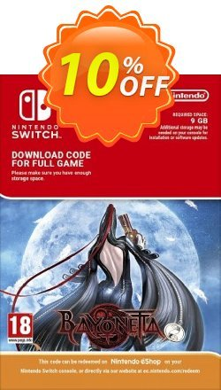 Bayonetta Switch Coupon, discount Bayonetta Switch Deal. Promotion: Bayonetta Switch Exclusive offer for iVoicesoft