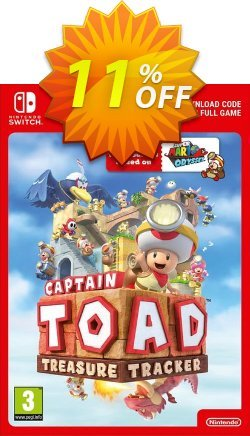 Captain Toad: Treasure Tracker Switch Coupon discount Captain Toad: Treasure Tracker Switch Deal - Captain Toad: Treasure Tracker Switch Exclusive offer for iVoicesoft